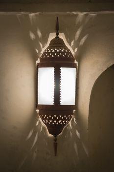 Historic lamp Oman