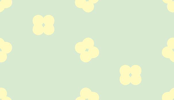 Little Florets in Seamless Pattern