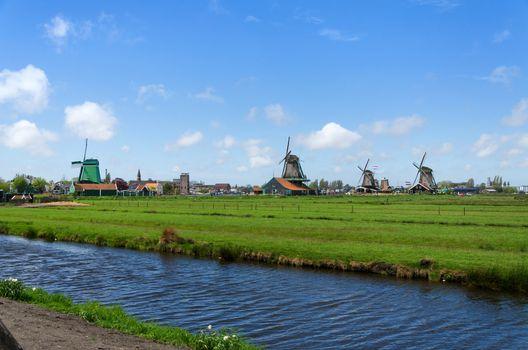 Tourist Destination in Zaanse Schans