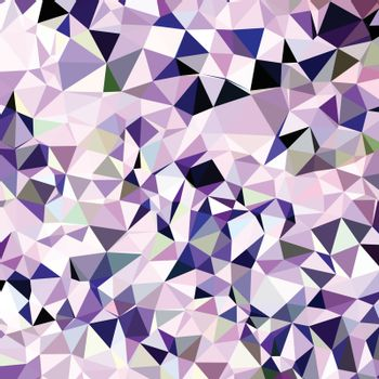 Low polygon style illustration of a blue violet abstract geometric background.