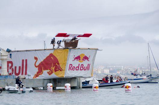 Cascais com asas team at the Red Bull Flugtag