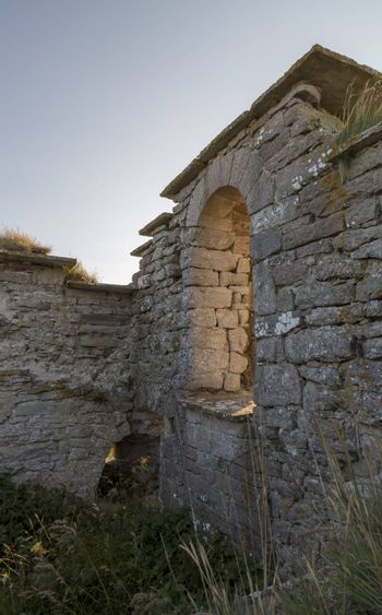 Ruins of a House at Gotland, Sweden.