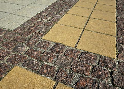 stone pavement a diverse
