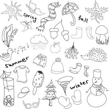 Drawn seasons stuff