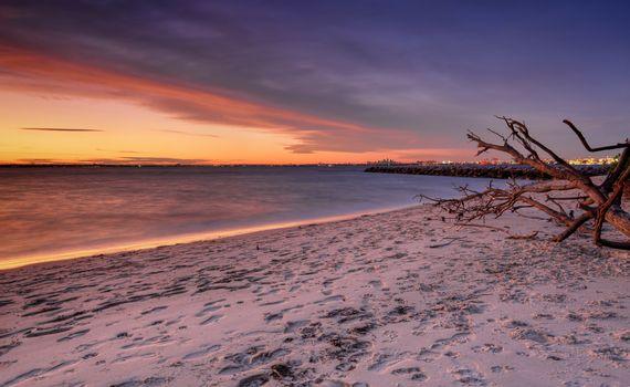 Sunset at Silver Beach Botany Bay Sydney