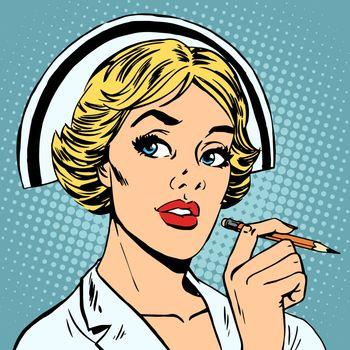 nurse writes diagnosis