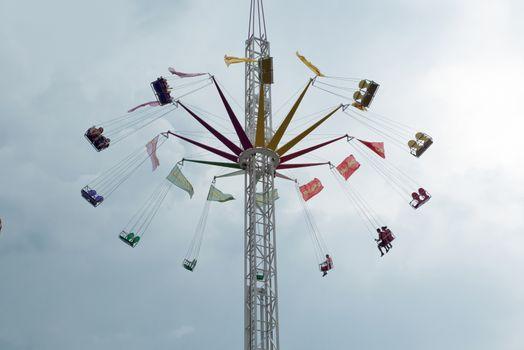 Swing Ride on Fair