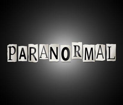 Paranormal concept.