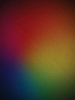 Vector - Gay Flag on Jeans Fabric Texture