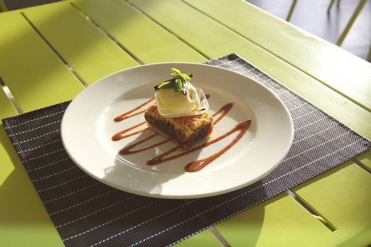 Restaurant menu. Dishes which give at restaurants. Salads, second courses, pizza and other.