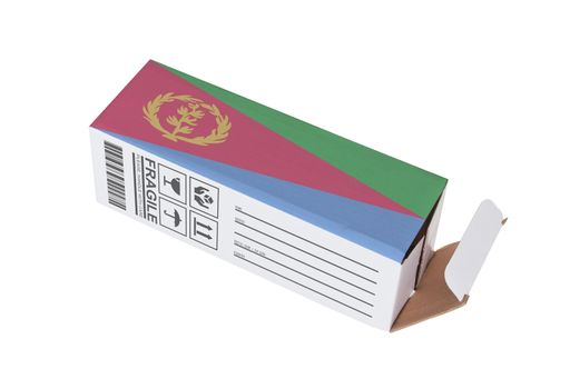 Concept of export - Product of Eritrea