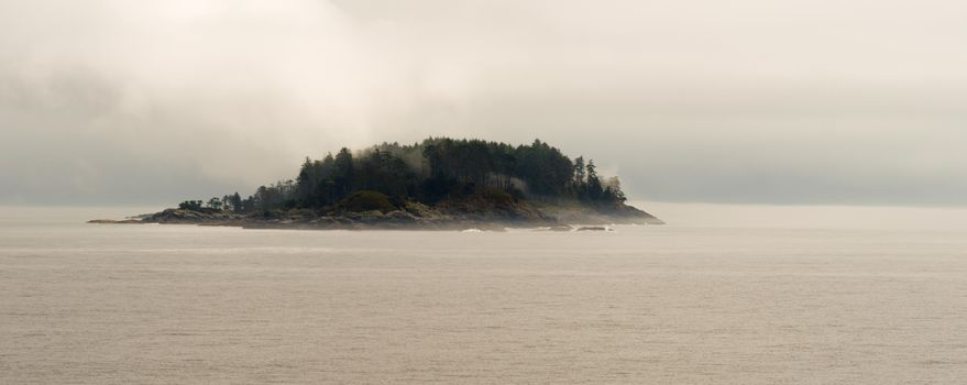Small Island Inside Passage Canadian Waters
