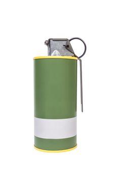 M18 Smoke Yellow explosive model, weapon army,standard timed fuz