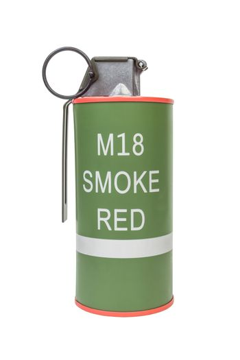 M18 Smoke Red explosive model, weapon army,standard timed fuze h