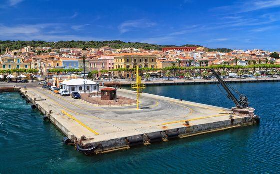 Sardinia - Carloforte waterfront