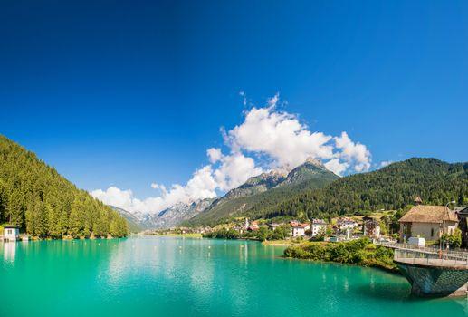 Lake of Auronzo, Italian Dolomiti