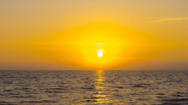 worm sun set