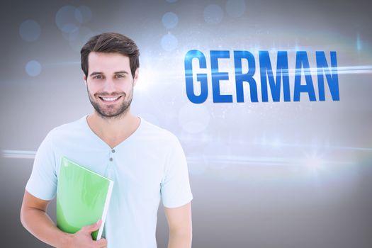German against grey vignette