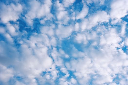 view of clear sky and blue cloud