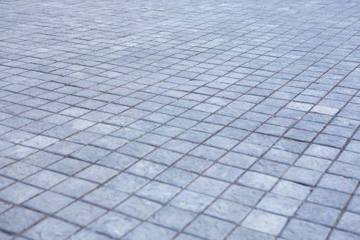 Grey city pavement