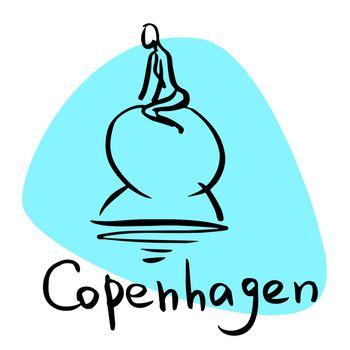 Copenhagen the capital of Denmark