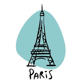 Paris the capital of France Eiffel tower