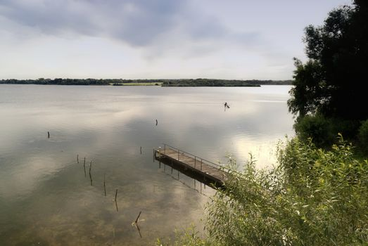 Lake in Northern Germany