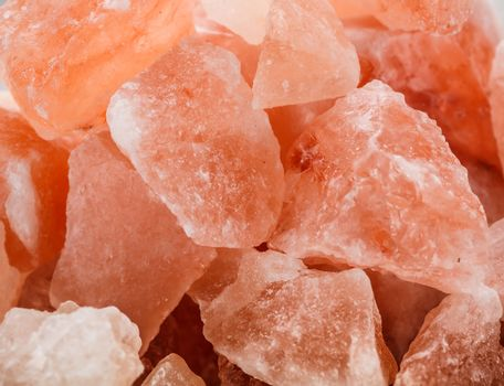 Pink crystal salt