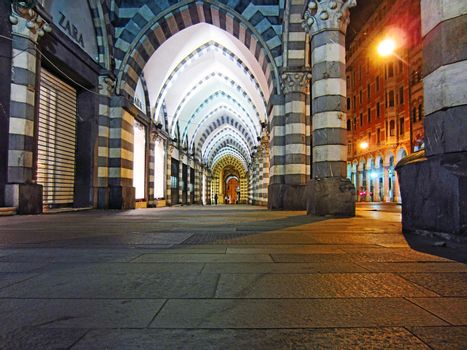Night in Genoa