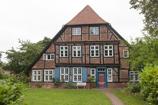 Old House in Ratzeburg, Germany