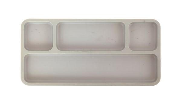 Stationary tray
