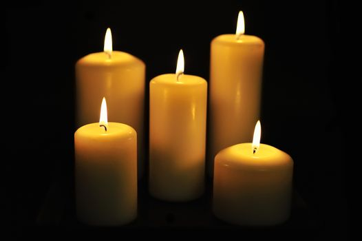 Five Candles in the Dark