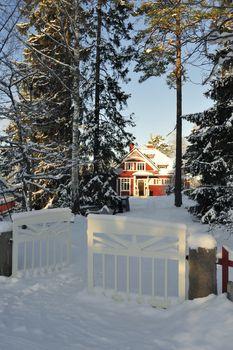 Swedish housing in Stockholm.