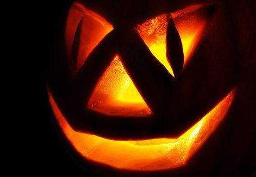 Jack O Lantern In the dark