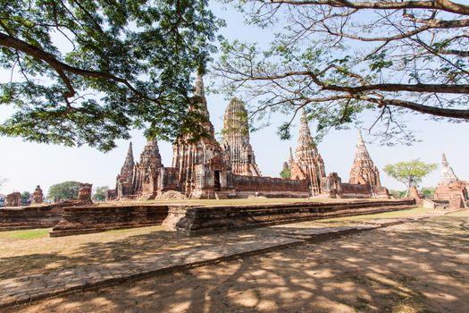 Wat-chaiwatthanaram, ayutthaya,thailand