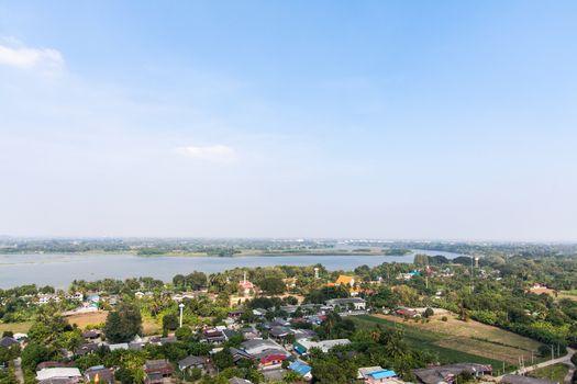 Autumn landscape in thailand