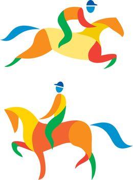 Equestrian Icon