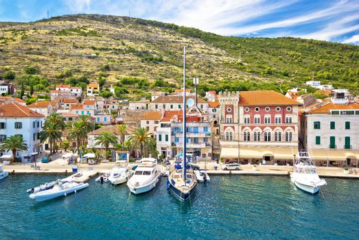 Vis island yachting waterfront view