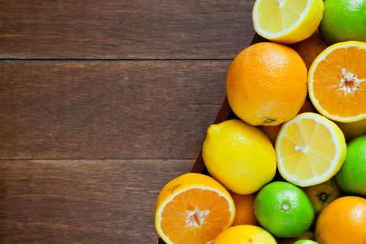 Bowl Of Citrus Fruits