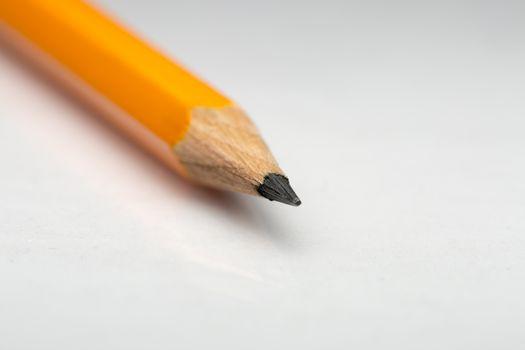 Orange Pencil Close Up