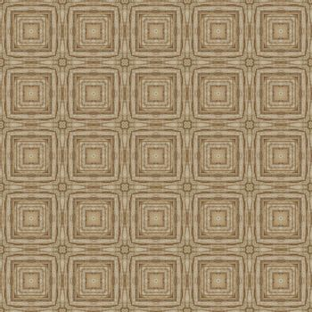 Seamless vintage delicate colored wallpaper. Geometric and floral pattern on paper texture in grunge style.