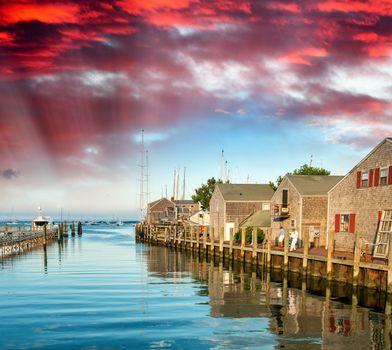 Beautiful Nantucket coast