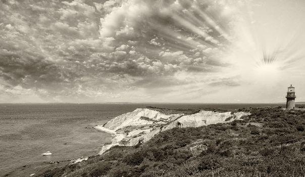 Wonderful landscape of Aquinnah Beach, Martha's Vineyard
