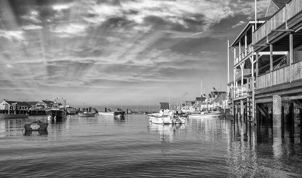 Nantucket Coast in Massachusetts