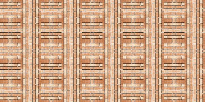The seamless vintage delicate colored bricks wallpaper
