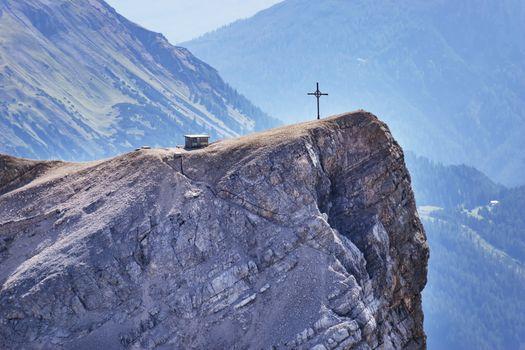 View from summit Zugspitze