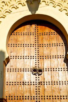 historical in  antique building door