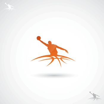 Background related to basketball.