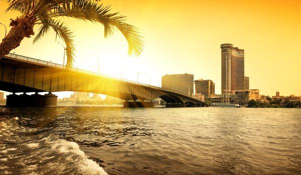 Evening on Nile