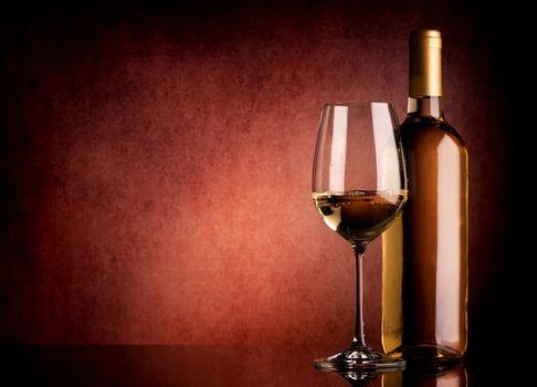 Festive white wine